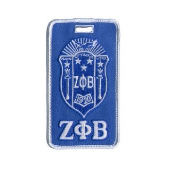 Zeta Phi Beta Crest Luggage Tag