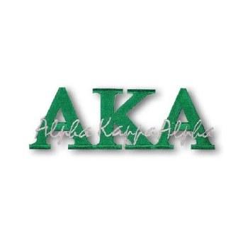 Alpha Kappa Alpha Signature Patch