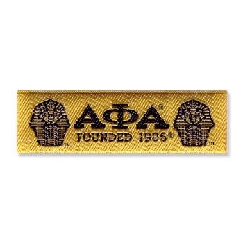 Alpha Phi Alpha Woven Label Patch