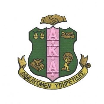 Alpha Kappa Alpha CrestPatch