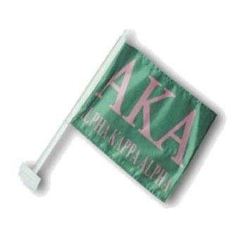 Alpha Kappa Alpha Car Flag