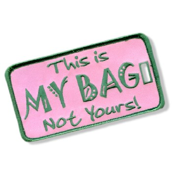 Alpha Kappa Alpha My Bag Luggage Tag