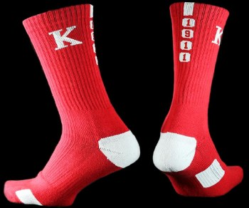Kappa Alpha Psi Year Crew Socks