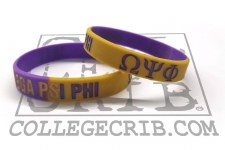 Omega Psi Phi Year Wristband