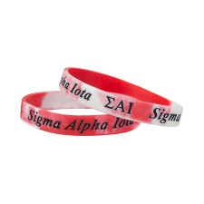 Sigma Alpha Iota Two-Toned Wristband