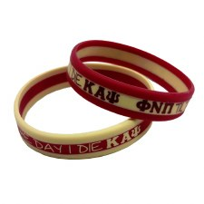 Kappa Alpha Psi 3 Layer Wristband
