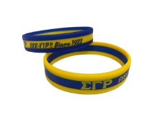 Sigma Gamma Rho 3 Layer Wristband