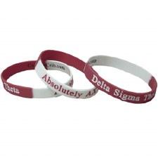 Delta Sigma Theta AX Chapter Wristband