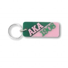 Alpha Kappa Alpha Letters & Year Keychain