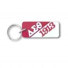Delta Sigma Theta Letters & Year Keychain