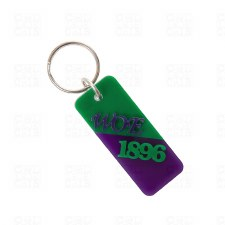 Letters & Year Keychain