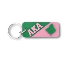 Alpha Kappa Alpha Letters & Mascot Keychain