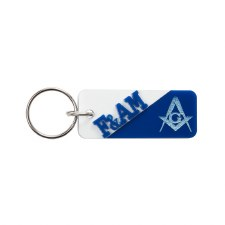 Mason Letters & Mascot Keychain