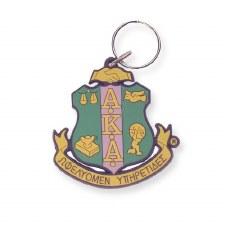Alpha Kappa Alpha Crest Keychain