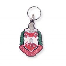 Delta Sigma Theta Crest Keychain