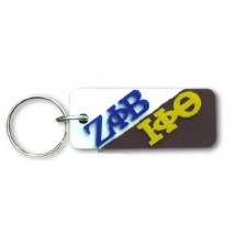 Zeta Phi Beta/Iota Phi Beta Greek Couple Keychain