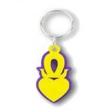 Omega Psi Phi Sweetheart Keychain