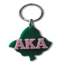Alpha Kappa Alpha Ivy Leaf Keychain