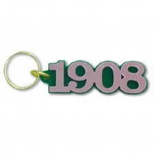 Alpha Kappa Alpha Year Keychain