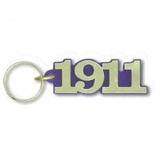 Omega Psi Phi Year Keychain
