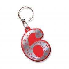 Kappa Alpha Psi Line Number Keychain