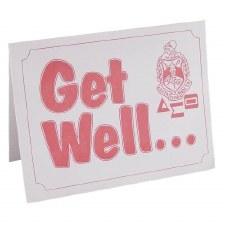 Delta Sigma Theta Get Well Card