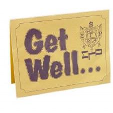 Sigma Gamma Rho Get Well Card