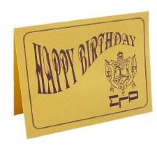 Sigma Gamma Rho Happy Birthday Card