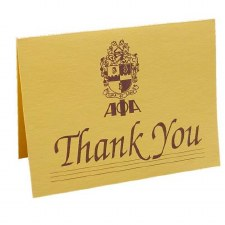 Alpha Phi Alpha Thank You Card
