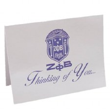 Zeta Phi Beta Thinking of You Card