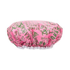 Alpha Kappa Alpha Signature Shower Cap