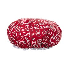 Delta Sigma Theta Signature Shower Cap