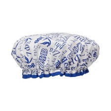 Zeta Phi Beta Signature Shower Cap