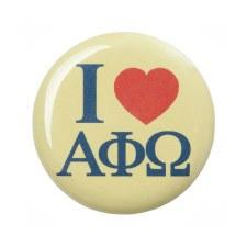 Alpha Phi Omega I Love Button