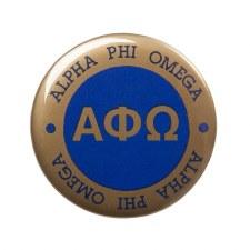 Alpha Phi Omega Circle Button