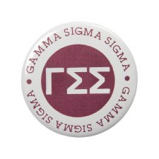 Gamma Sigma Sigma Circle Button