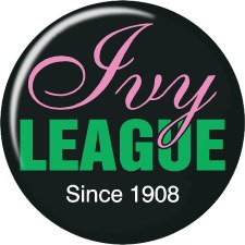 Alpha Kappa Alpha Ivy League Button