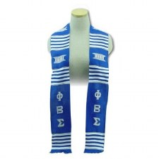 Phi Beta Sigma Kente Graduation Stole