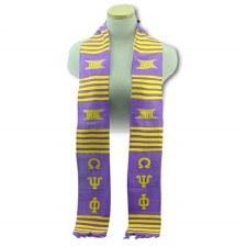Omega Psi Phi Kente Graduation Stole