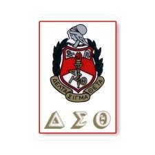 Delta Sigma Theta Crest Decal