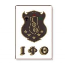 Iota Phi Theta Crest Decal