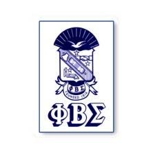 Phi Beta Sigma Crest Decal