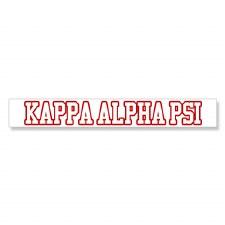 Kappa Alpha Psi Long Decal
