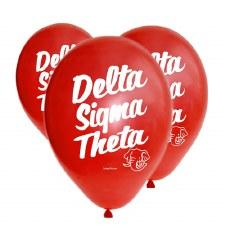 Delta Sigma Theta Balloons