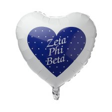 Zeta Phi Beta Mylar Balloon
