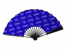 Zeta Phi Beta Wooden Handle Fan