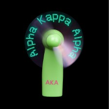Alpha Kappa Alpha Sororty Lights Fan