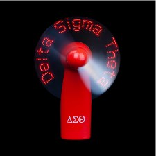 Delta Sigma Theta Sorority Lights Fan