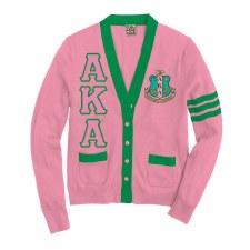 Alpha Kappa Alpha Varsity Cardigan