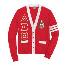 Delta Sigma Theta Varsity Cardigan
